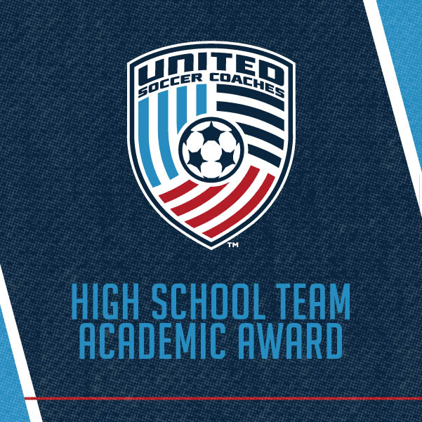 United Soccer Coaches High School Academic Award Logo