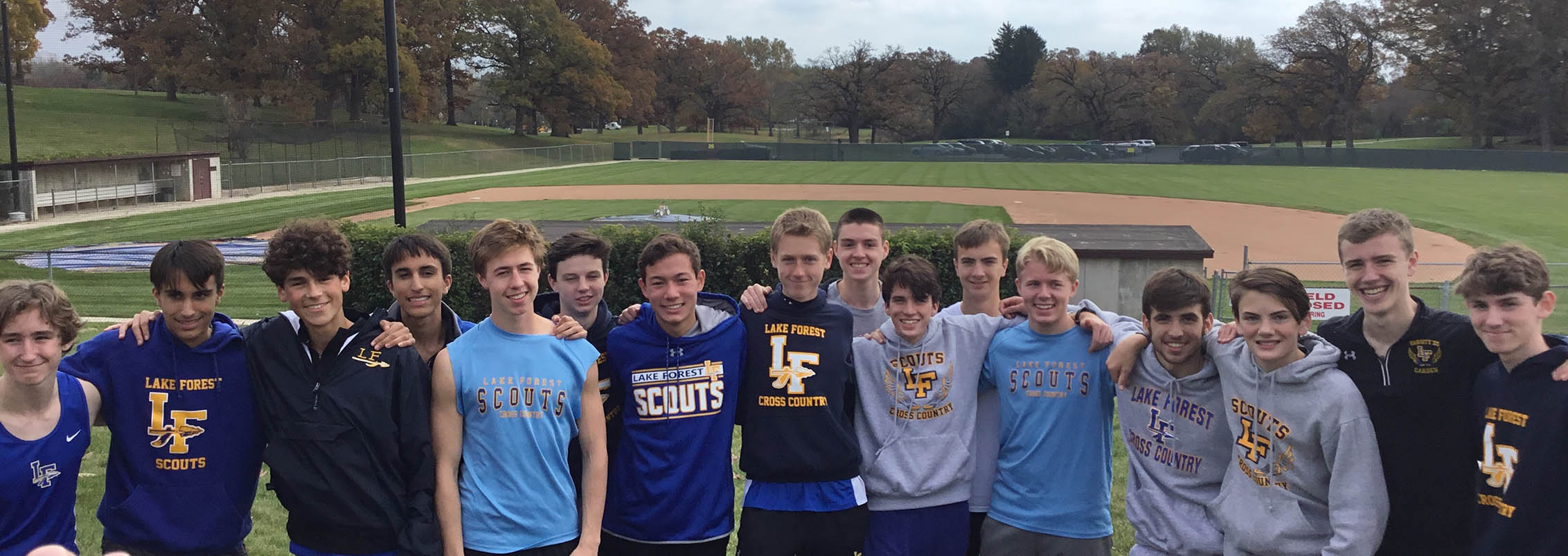 Team photo at Sectionals 10-27-18