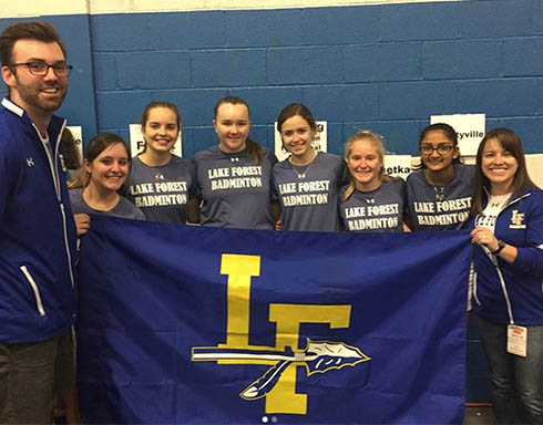 Five badminton team members qualify for state tournament