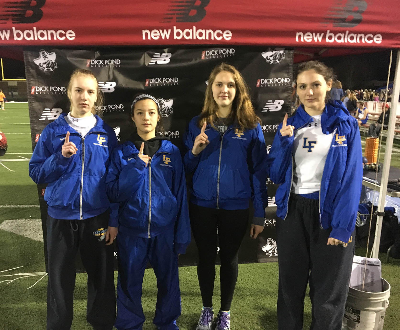 Four qualifiers for Palatine at Night Invitational
