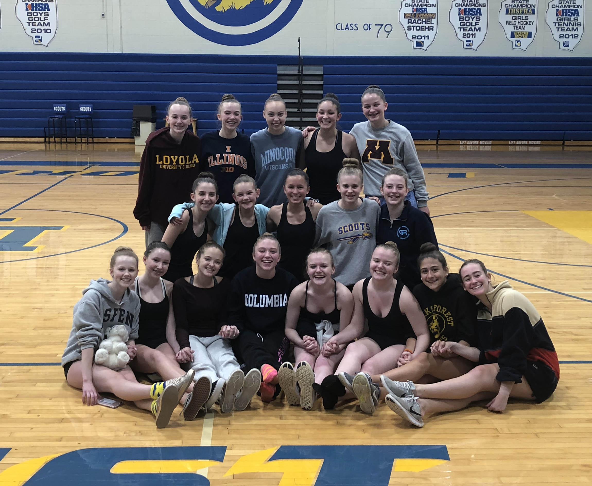 2018-19 Fall JV Pom/Dance Team