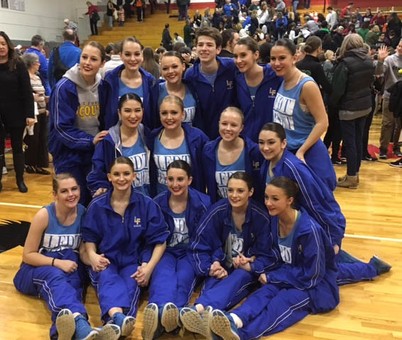 Varsity Competitive Dance Team Advance to the IHSA Competitive Dance State Tournament