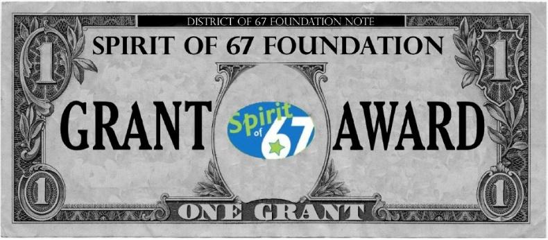 Graphic element representing spirit grant awards